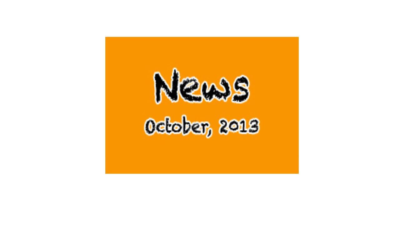 Newsletter - October 2013
