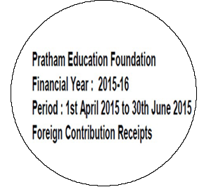 FCRA Declaration - April 2015 to June 2015