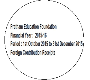 FCRA Declaration - Oct 2015 to Dec 2015
