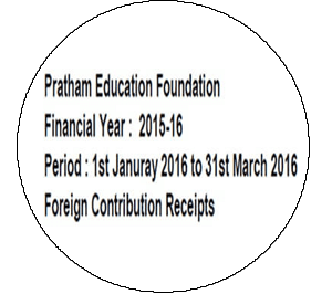 FCRA Declaration - Jan 2016 to Mar 2016