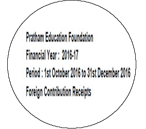 FCRA Declaration - Oct 2016 to Dec 2016