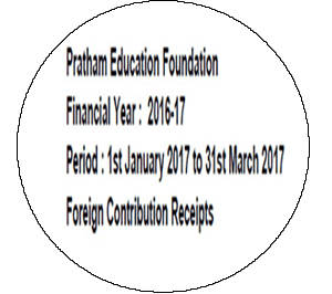 FCRA Declaration - Jan 2017 to Mar 2017
