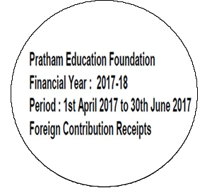FCRA Declaration - Apr 2017 to June 2017