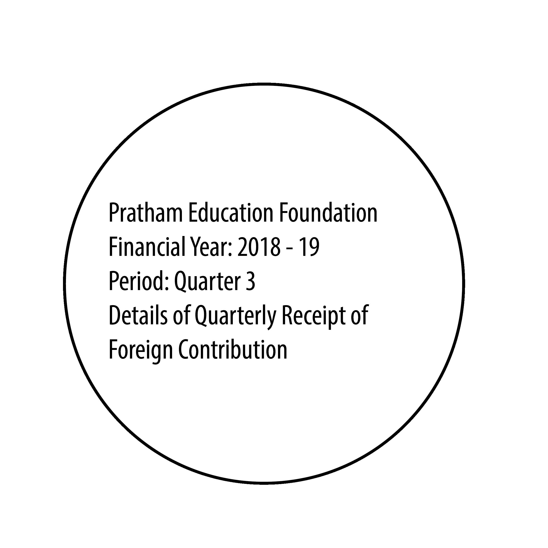 FCRA Declaration - Oct 2018 to Dec 2018