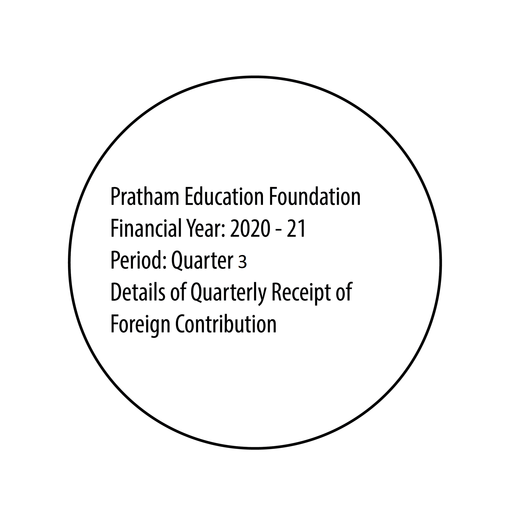 FCRA Declaration - Sept 2020 to Dec 2020